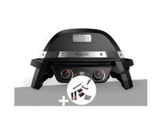 Barbecue électrique Weber Pulse 2000 + Kit de nettoyage