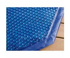 Bâche à bulles pour piscine bois Ubbink rectangulaire Modèle - Linea 11,00 x 5,00m rectangulaire