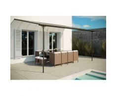 Ferrato 15,15 m² : tonnelle murale, carport 4,96 x 3,05 m