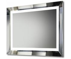Miroir Lumineux LED de Salle de bain Askew,avec Capteur,Rasoir,Antibuée k507a