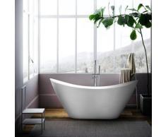 Arati Bath&shower - Baignoire îlot Ovale Autoportante Design Libre Siro