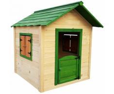 Maisonnette en bois pour enfants Outdoor Toys Kela 138x116x132 cm