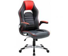 IntimaTe WM Heart Chaise de Bureau,Fauteuil Gaming , Dossier Haut Simili Cuir, Ergonomique,