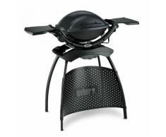 Barbecue électrique Q 1400 Gris Anthracite avec stand - Anthracite - Weber