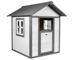 Lodge Playhouse: Maisonnette pour enfants, fenêtres intégrées et bois très résistant