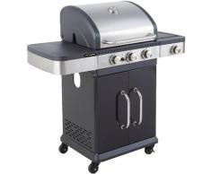 Barbecue gaz Américain FIDGI 3 (3B+SIDE) Cook'in Garden