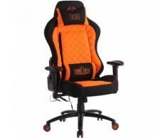CLP - Fauteuil de bureau Rapid XM Tissu noir/orange