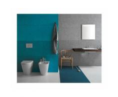 BIDET à poser - forty3 - 57 x 36 cm - cod FO009 - Ceramica Globo   Petrolio - Globo PT