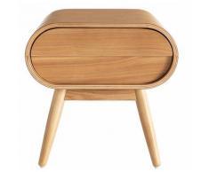 Table de chevet design 1 tiroir BJORG - Frêne