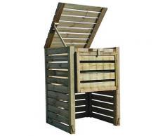 Composteur en bois Colorado grand modèle - 800 L
