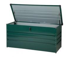 Coffre de rangement vert 132 x 62 cm CEBROSA