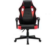 play haha. Chaise de bureau pivotante de style course pour ordinateur - Chaise de conférence