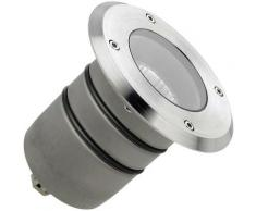 Ledkia - Spot Rond Encastrable au Sol Submersible Aqua GU5.3 IP68 LEDS-C4 55-9245-CA-37 Acier Poli