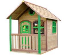 Alex Playhouse: Maisonnette pour enfants, fenêtres intégrées et bois très résistant