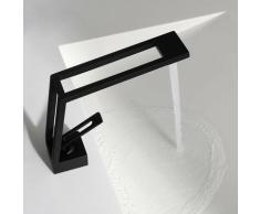 Kroos - Robinet mitigeur lavabo design en - Noir mat