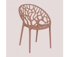Chaise de jardin Ores Polypropylène - Terracota - Sklum