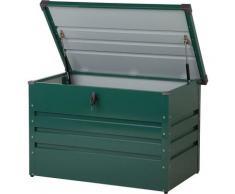 Coffre de rangement vert 100 x 62 cm CEBROSA