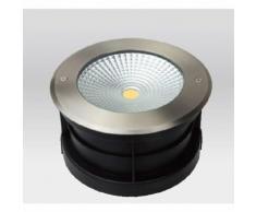 Spot LED Extérieur à enterrer ou encastrer 24W (éclairage 200W) étanche IP67 | Blanc Froid 6000K