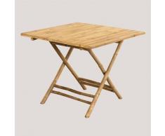 Table pliante Allen en bambou Bambou Bambou - Bambou Bambou - Sklum