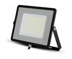 V-TAC PRO VT-106 Projecteur LED 100W slim noir Chip Samsung smd Haute Lumens blanc froid 6400K