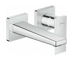 Hansgrohe Mitigeur monocommande de lavabo encastré Metropol, béquille, saillie 165 mm, montage