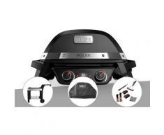Barbecue électrique Weber Pulse 2000 + Chariot + Housse + Kit de nettoyage