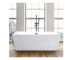 Arati Bath&shower - Baignoire rectangulaire autoportante Design moderne Icaria