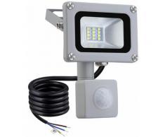 9 PCS 10W Projecteur LED SMD Lampe Extérieure Mit Bewegungsmelder Blanc Froid LLDUK-D4NGPT10W220VX9