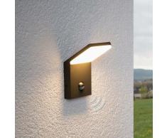 LED Lampe Exterieure Detecteur De Mouvement 'Nevio' en aluminium