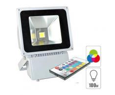Projecteur led extérieur 100w RGB spot led RGB étanche