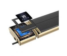 Chauffage infrarouge avec Wifi APP cm 69,5x18,9x6,7 SINED 1000-WIFI