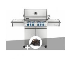 Barbecue à gaz Prestige Pro 500 + Plateau charbon - Napoleon