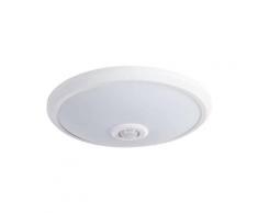 Plafonnier détecteur de mouvement IP20 14W LED Blanc naturel