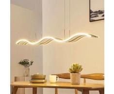 LED Suspension à intensité variable 'Rosella' en métal pour cuisine