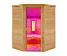 Sauna cabine infrarouge Holl's MULTIWAVE 3C 3/4 places