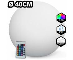 Boule LED Lumineuse Multicolore 40CM