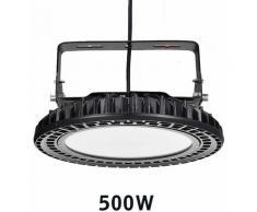 Hommoo - 6 PCS 500 W 800 W LED Haute Baie Lumière UFO led haute Baie Lumière Industrielle Lampe
