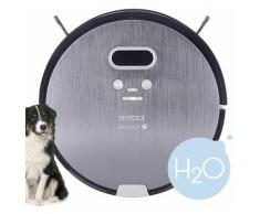 Robot aspirateur et laveur Animal Premium H2O - Gris - Amibot