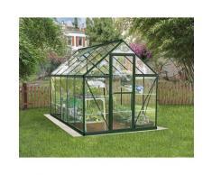 Serre de jardin HARMONY 6x10 vert - 5.7m²