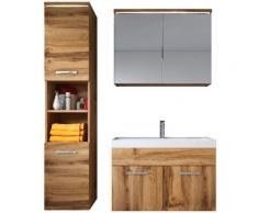 Meuble de salle de bain de Paso 80x40cm lavabo Wotan – Armoire de rangement Meuble lavabo armoire