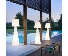 Lampadaire colonne tige lumineux design moderne Slide Pivot | Taille: L