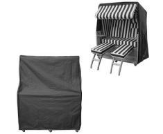 160x160x90CM Housse de protection bâche Housse chaise de plage Bâche de protection contre les