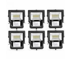 6×Anten 20W Spot LED Projecteur LED IP65 Éclairage Extérieur et Intérieur Blanc Neutre 4000-4500K