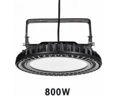 Hommoo - 4 PCS 500 W 800 W LED haute baie lumière UFO led haute baie lumière industrielle lampe