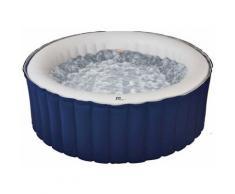 Spa gonflable jacuzzi rond bleu 6 places LR06-NA Lite Mspa