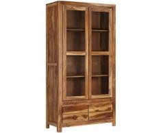 Helloshop26 - Buffet bahut armoire console meuble de rangement bois massif 175 cm - Bois