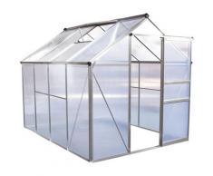 Habitat Et Jardin - Serre jardin polycarbonate 'Hortensia' 4,8m²