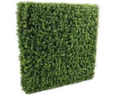 Plante artificielle haute gamme Spécial extérieur/Buis artificiel Haie de structure en métal