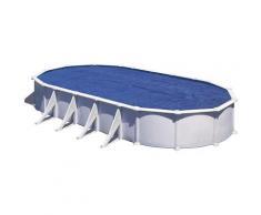 Bâche à bulles pour piscine acier ovale 9,20 x 5,05 m - Gré