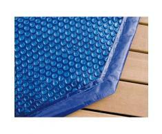 Bâche à bulles pour piscine bois Ubbink rectangulaire Modèle - Lagon / Sunwater 5,55 x 3,00m